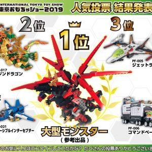 東京おもちゃショー2019人気投票オリンビック結果発表!